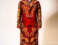 - Persian rug coat