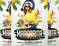 Margarita Mondays Bash - Club A5 Template