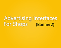 Advertising interfaces For shops (banner 2 )