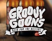 Groovy Goons Pale Ale - Beer Label