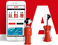 ALESSI - The dreams factory - new Website + shop