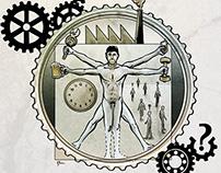 Ilustración para jornadas sobre Nuevas Masculinidades