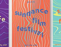 Sundance Film Festival Poster Series