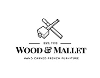 Wood & mallet: Corporate Identity