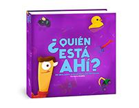 ¿Quién está ahí? libro infantil interactivo