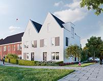 Dijkwoningen Frankhuis te Zwolle
