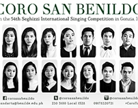 Coro San Benildo goes to Italy