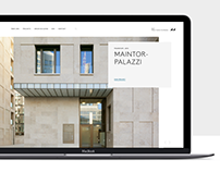 B&V Braun Canton Architects Website Relaunch