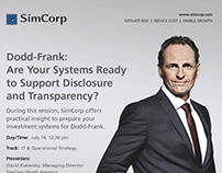 SimCorp Ads