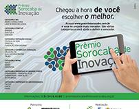 Campanha de anúncios do Prêmio Sorocaba de Inovação