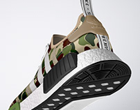 Adidas NMD R1 BAPE