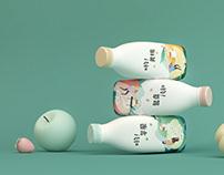 哟!优格 | Yo! Yogurt 品牌创意 Branding