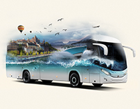 Photoshop Truck and Bus Concepts