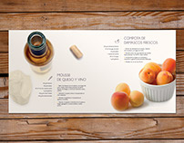 Tarte Roussillon - Diseño editorial