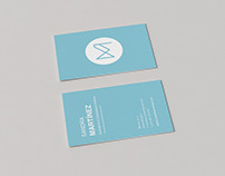 Design business cards SM Personal Branding