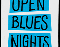 Poster - Open Blues Nights