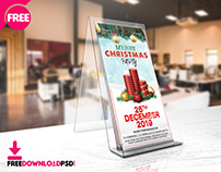 Christmas Party DL FLYER PSD Template