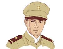 GOYO (Ang Batang Heneral) Illustrated Portrait