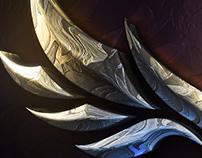 Lights on Fantasy Reflective Surface