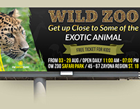 Zoo Billboard Template