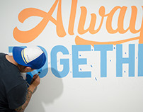 Always Together // Mural