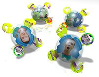 X-pheres Football Toy & Game
