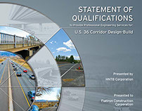 Statement of Qualifications Cover and Document Design