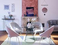 Nice White Interior Design
