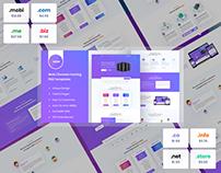 Web Hosting & Domain Hosting Full Website Presentation