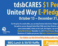 TDSB & The United Way Fundraising events