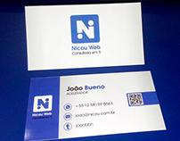 Nicou Web business card