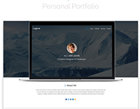 Personal Portfolio PSD Template