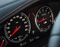 BMW X6M Interior & Details