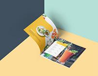 Food Menu Booklet Design