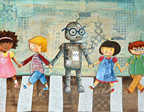 Robot Goes to School