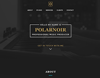 Producer Pack HTML and PSD Web Design Template