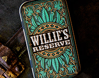 Willie's Reserve Joint Tin