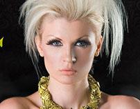 Sylvia Dendrinou Greek Model / Artist