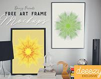 2 Free Frame Presentation Mockups