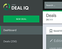 Deal IQ Single Deal List UI/UX