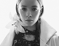 FLOWER POWER fashion editorial