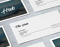 Projet Business Card The Hub