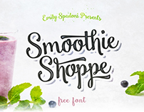 Free Smoothie Shoppe Font - Personal Use Only
