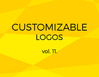 Customizable logos vol. 11.