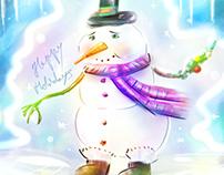 Snowman December 2018