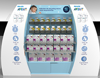 Store Display Philips Avent