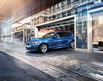 BMW 1 Series – Look creation and precompositing on set