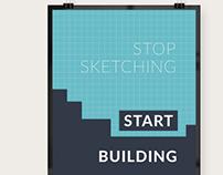 StopSketching-StartBuilding