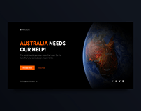 Landing Page: Australia Needs Our Help!