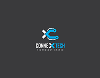 Brand Identity Design for www.ConneXTech.in